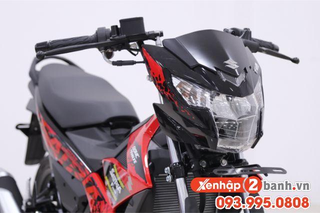 Satria f150 màu đen mâm đỏ 2019 - 3