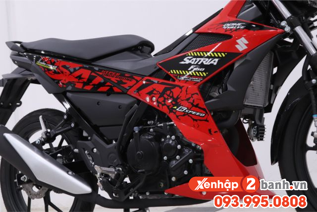 Satria f150 màu đỏ đen 2019 - 6