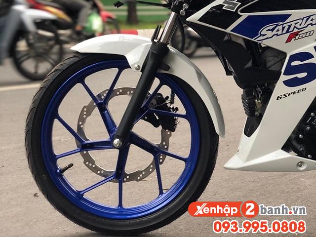 Satria f150 màu trắng xanh 2020 - 7