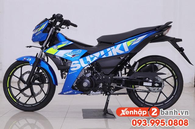 Satria f150 màu xanh gp 2020 - 1