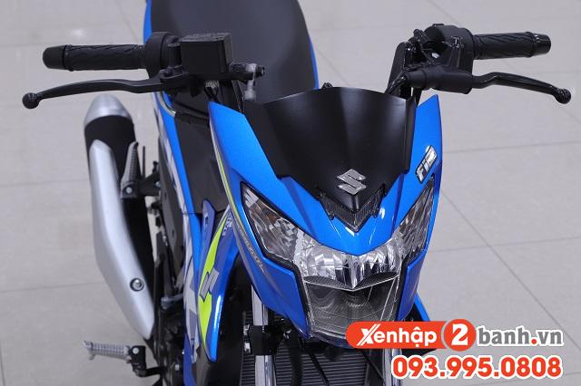 Satria f150 màu xanh gp 2020 - 4