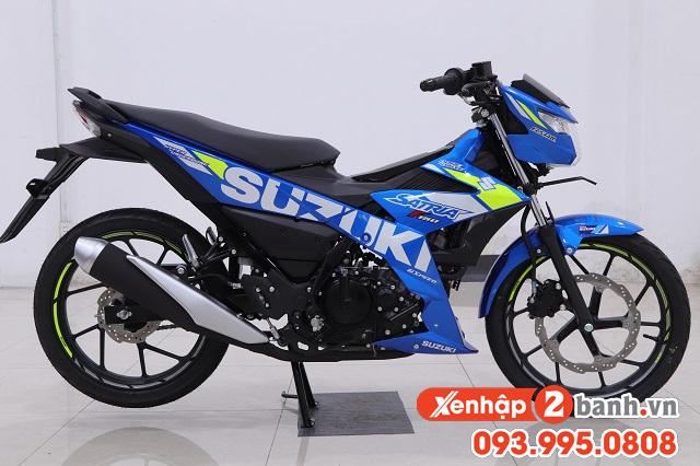 Satria f150 màu xanh gp 2020 - 2