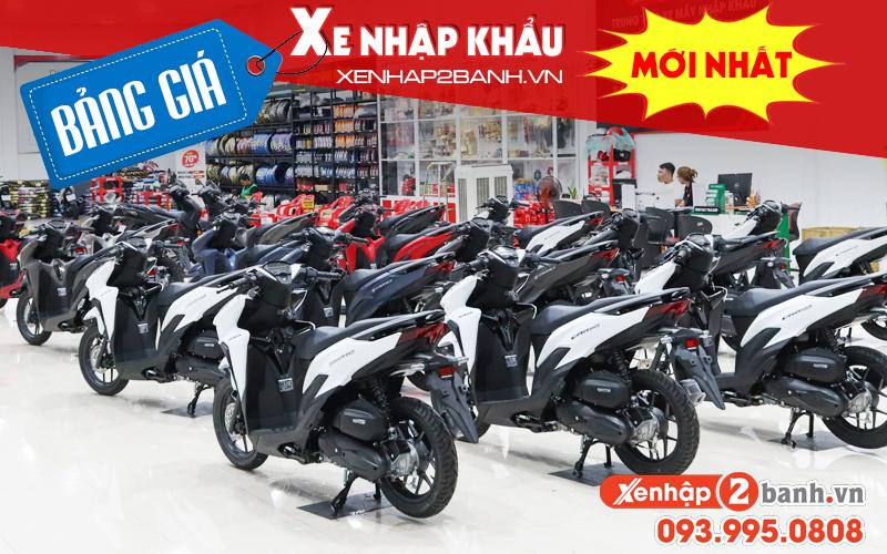 Bảng giá xe máy nhập khẩu mới nhất tháng 42021 tại xenhap2banh - 1
