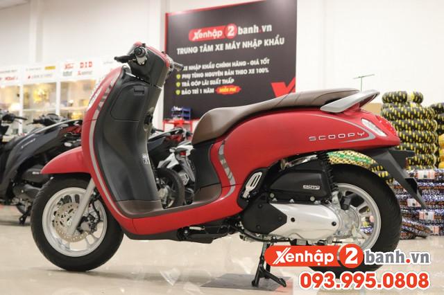 Scoopy smartkey đỏ 2021 - 2