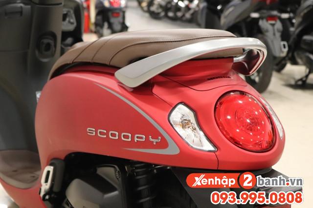 Scoopy smartkey đỏ 2021 - 5