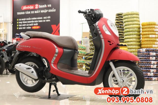 Scoopy smartkey đỏ 2021 - 1