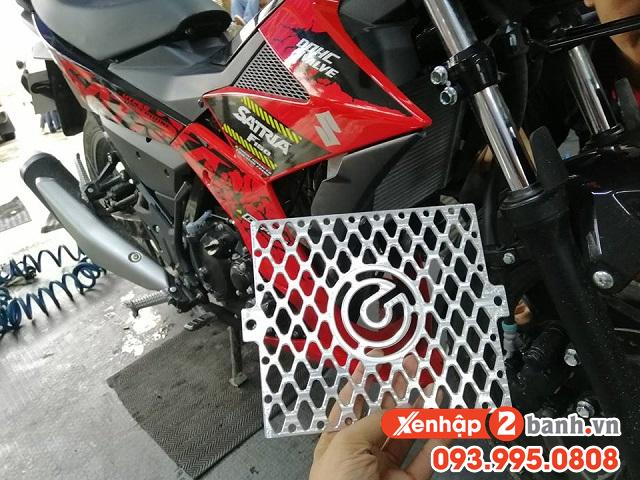 Che két nước CNC cho xe Satria