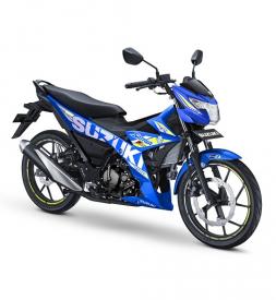 Satria F150 màu Xanh GP 2020