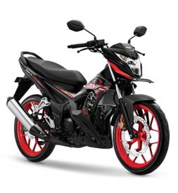 Sonic 150R 2020 màu đen mâm đỏ