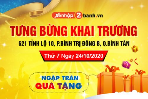 Trung tâm xe máy nhập khẩu Quận Bình Tân uy tín giá tốt nhất