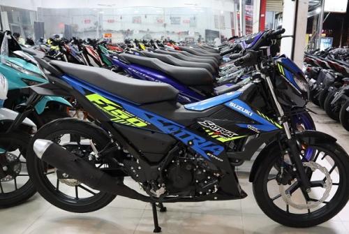 Mua Satria ở đâu giá tốt TPHCM? Suzuki Satria 2021 giá bao nhiêu?