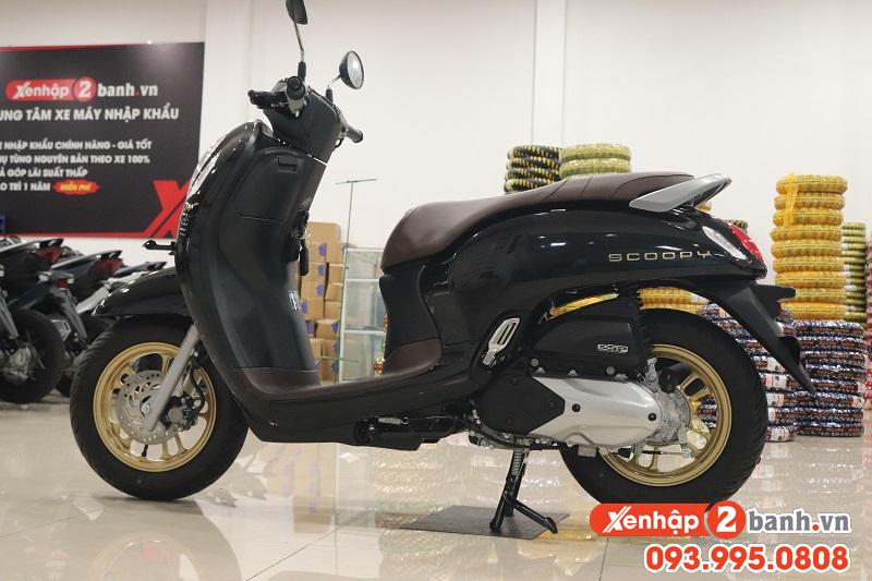 Scoopy Smartkey Đen mâm Đồng 2021
